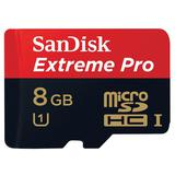 SANDISK Micro SDHC Extreme Pro Class 10 UHS-1 8GB [SDSDQXP] - Micro Secure Digital / Micro Sd Card